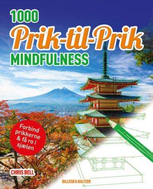 1000 Prik Til Prik - Mindfulness - Chris Bell - Bog