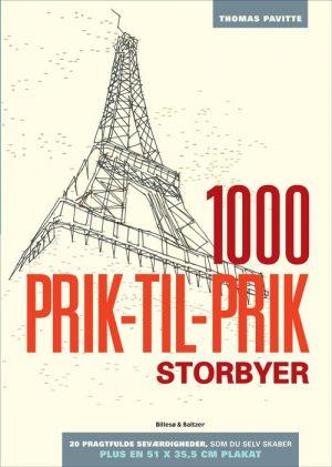1000 Prik-til-prik - Storbyer - Thomas Pavitte - Bog