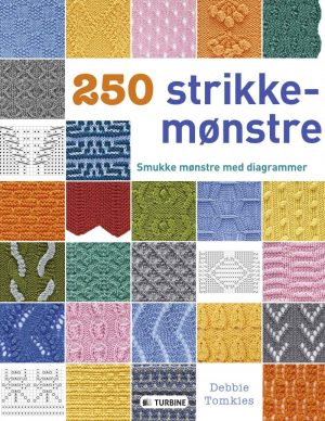 250 Strikkemønstre - Debbie Tomkies - Bog
