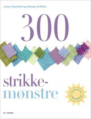 300 Strikkemønstre - Lesley Stanfield - Bog