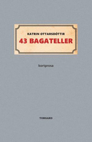 43 bagateller (Bog)