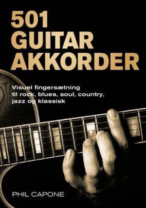 501 Guitarakkorder - Phil Capone - Bog