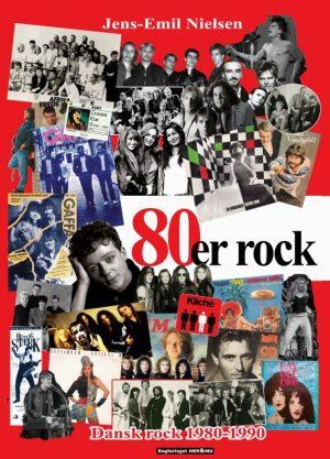 80´er Rock - Jens-emil Nielsen - Bog