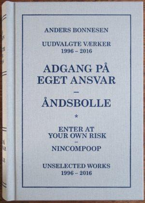 Adgang På Eget Ansvar - åndsbolle - Anders Bonnesen - Bog