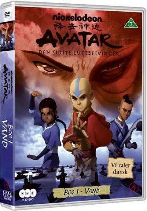 Avatar The Last Airbender / Den Sidste Luftbetvinger - Bog 1 Vand - DVD - Film