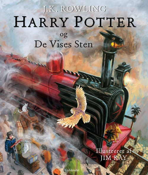 Harry Potter Illustreret 1 - Harry Potter og De Vises Sten (Bog)