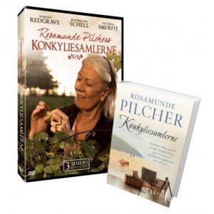 Rosamunde Pilchers - Konkyliesamlerne (dvd + Bog) - DVD - Film