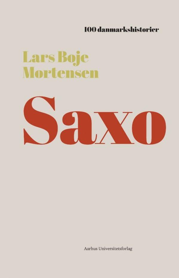 Saxo - Lars Boje Mortensen - Bog