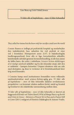 Vi Lider Alle Af Kapitalisme - Gritt Uldall-jessen - Bog