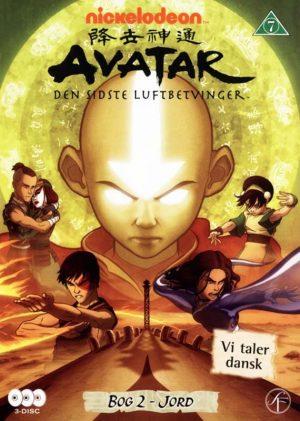 Avatar The Last Airbender / Den Sidste Luftbetvinger - Bog 2 Jord - DVD - Film