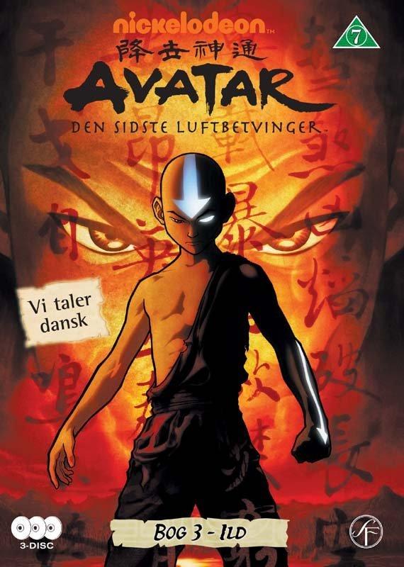 Avatar The Last Airbender / Den Sidste Luftbetvinger - Bog 3 Ild - DVD - Film