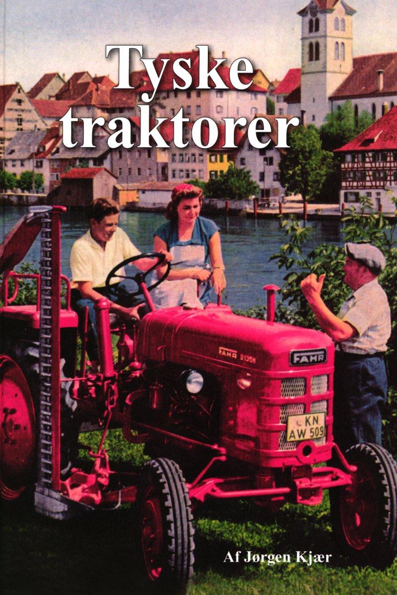 Tyske Traktorer - Jørgen Kjær - Bog